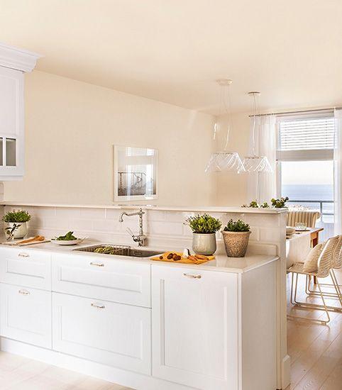 cocina abierta al salon - Cocinas Integradas En El Salon