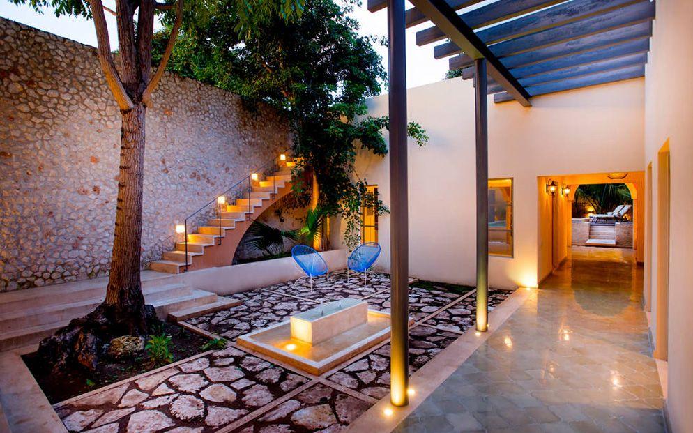 iluminacin de jardines y terrazas globalia espacios - Iluminacion Terrazas