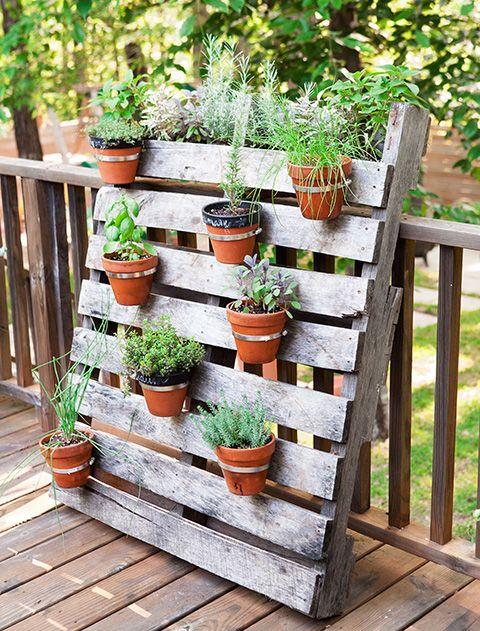 jardinera palet
