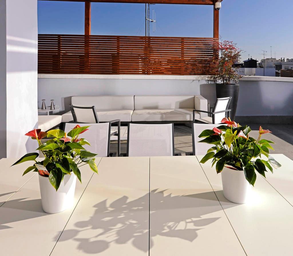 Decoraci n de terrazas de ticos globalia espacios - Diseno de terraza ...